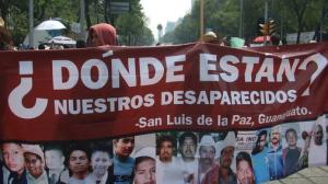 Familiares de desaparecidos. En busca de justicia. Foto/Cuartoscuro (Archivo)