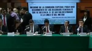 Diputados aprueban informe e inculpan a Ebrard como principal responsable